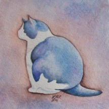 """Cat Study"" by Laurel Anne Equine Art"