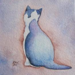 """Cat Study"" by Laurel Anne Equine Art"