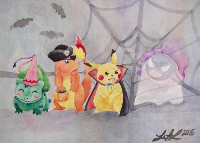 """Poké-ween"" by Laurel Anne Equine Art"