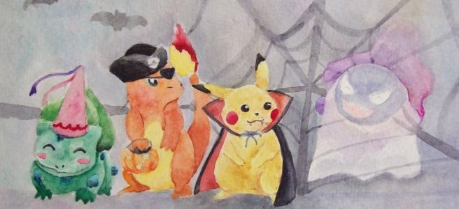"""Poké-ween"" by Laurel Anne Equine Art"