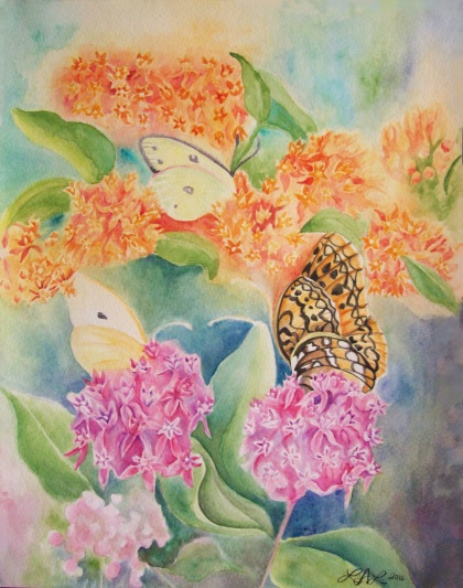 Butterfly Weed by Laurel Anne Equine Art