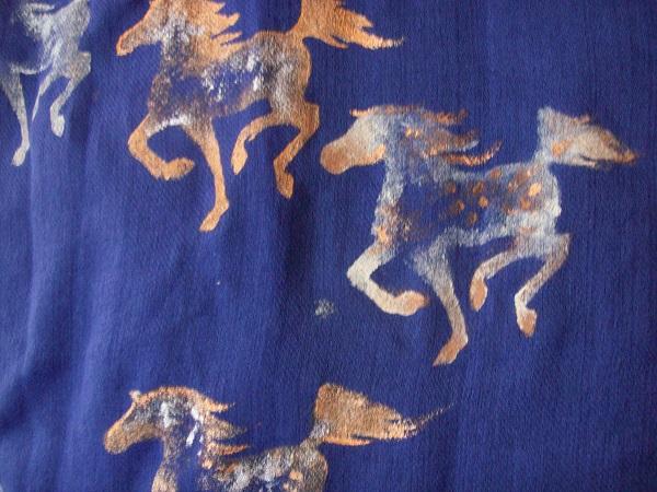 Running Arabian Horse Stencil by Laurel Anne Equine Art